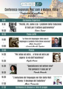 relatori Proz Matera